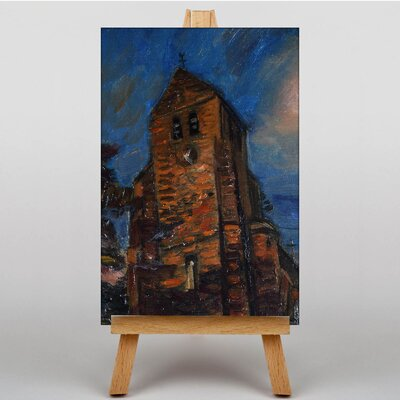 Big Box Art The Tower by Henry Le Fauconnier Art Print on Canvas
