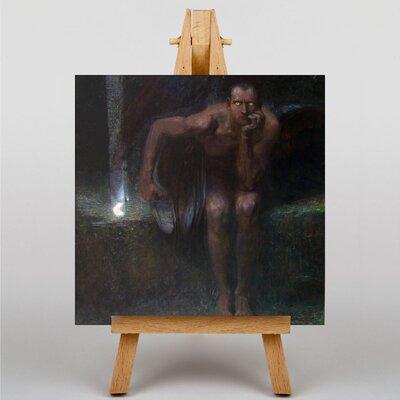 Big Box Art Lucifer by Franz Stuck Art Print on Canvas