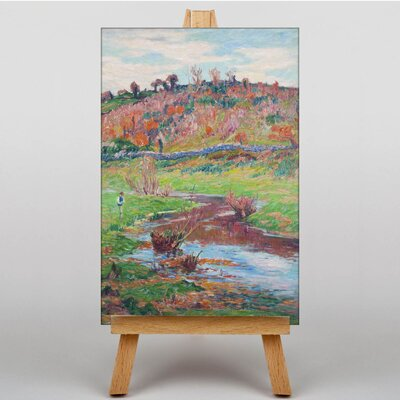 Big Box Art cape at Point Evan by Henry Moret Art Print on Canvas