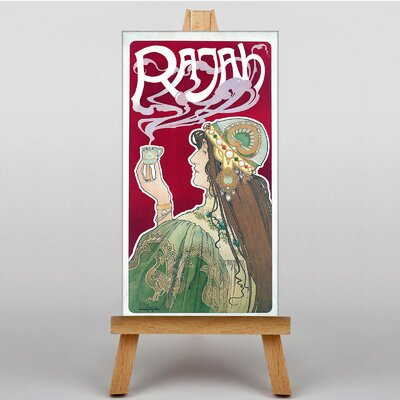 Big Box Art Rajah by Henri Privat-Livemont Graphic Art on Canvas