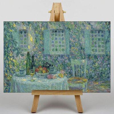 Big Box Art Al Fresco by Henri Le Sidaner Art Print on Canvas