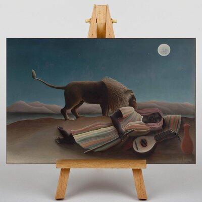 Big Box Art La Bohemienne Endormie by Henri Rousseau Art Print on Canvas