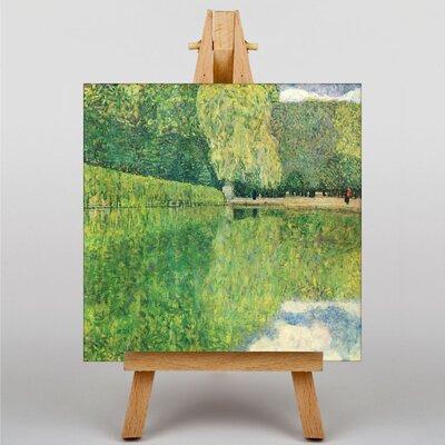 Big Box Art Landscape by Gustav Klimt Art Print on Canvas