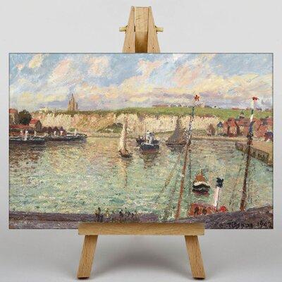 Big Box Art Port by Camille Pissaro Art Print on Canvas