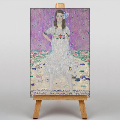 Big Box Art Mada Primavesi by Gustav Klimt Art Print on Canvas