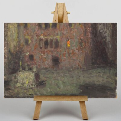 Big Box Art Vieille Place by Henri Le Sidaner Art Print on Canvas