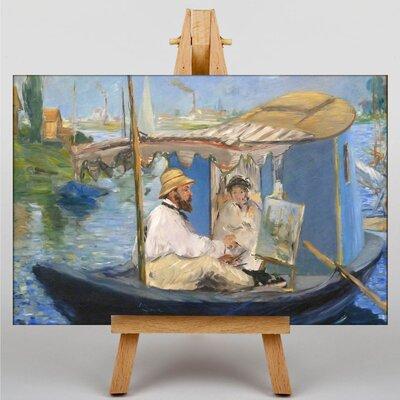 Big Box Art The Painter by Edouard Manet Art Print on Canvas