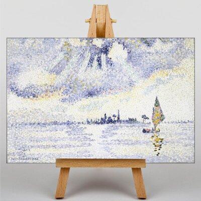 Big Box Art Sunset on the Lagoon by Henri-Edmond Cross Art Print on Canvas