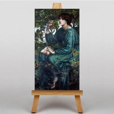 Big Box Art The Day Dream by Dante Gabriel Rossetti Art Print on Canvas