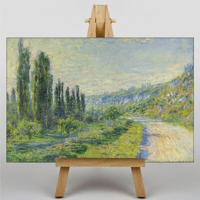 Big Box Art Lane in the Country by Claude Monet Art Print on Canvas