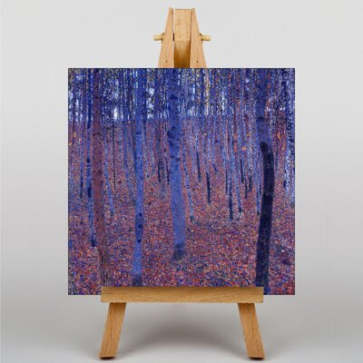 Big Box Art Beech Grove Forest No.2 by Gustav Klimt Art Print on Canvas