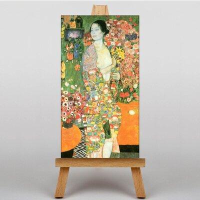 Big Box Art The Dancer by Gustav Klimt Art Print on Canvas