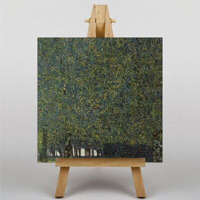 Big Box Art The Park by Gustav Klimt Art Print on Canvas
