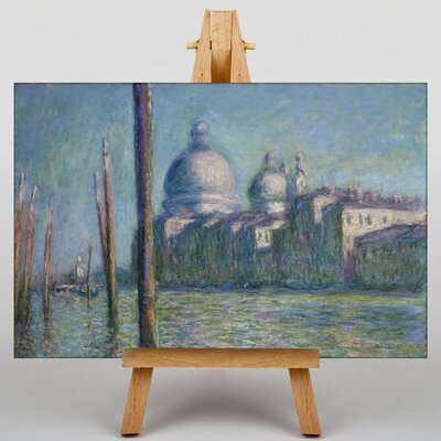 Big Box Art Le Grand Canal, Venice by Claude Monet Art Print on Canvas
