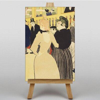 Big Box Art Two Women by Henri de Toulouse-Lautrec Art Print on Canvas