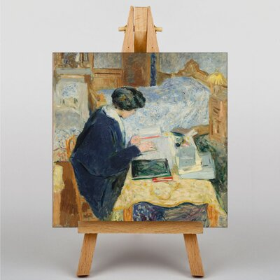 Big Box Art Lucy Hessel Reading by Edouard Vuillard Art Print on Canvas