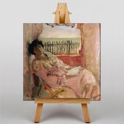 Big Box Art Lucy Hessel by Edouard Vuillard Art Print on Canvas
