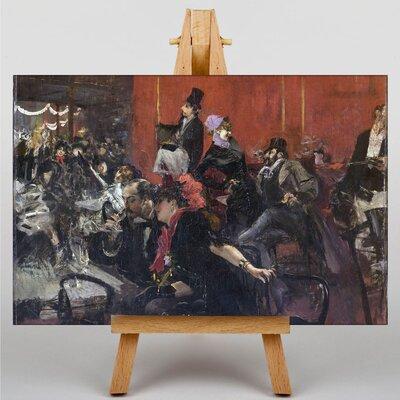 Big Box Art Scene de Fete by Giovanni Boldini Art Print on Canvas