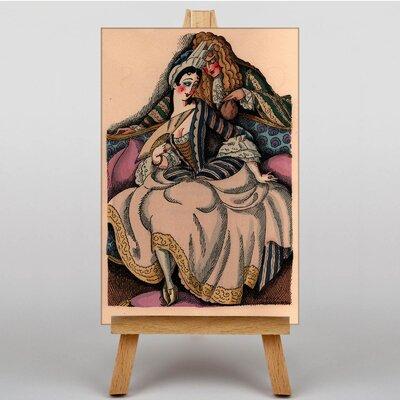 Big Box Art Coupe Enchantee by Gerda Wegener Art Print on Canvas