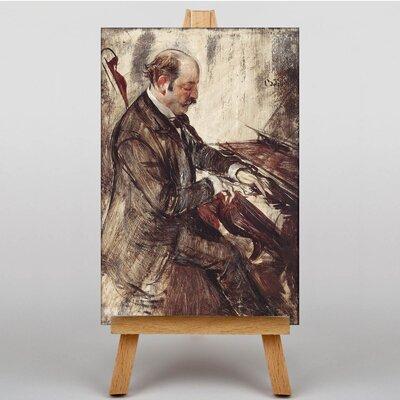 Big Box Art The Pianist by Giovanni Boldini Art Print on Canvas
