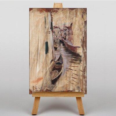 Big Box Art Venice Sketch by Giovanni Boldini Art Print on Canvas