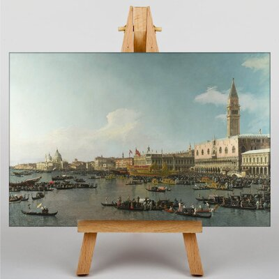 Big Box Art The Bucintoro, Ascension Day by Giovanni Canaletto Art Print on Canvas