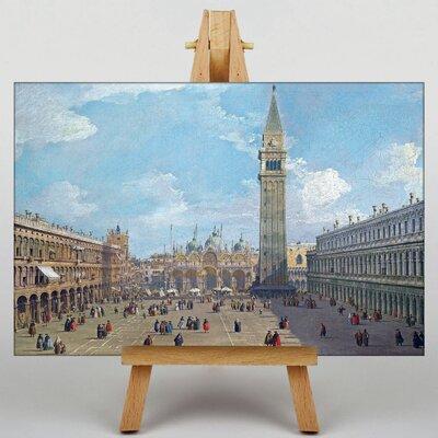 Big Box Art Piaza San Marco No.2 by Giovanni Canaletto Art Print on Canvas