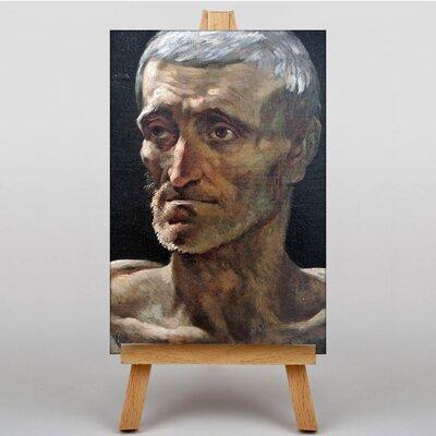 Big Box Art Shipwrecked Man by Gericault Theodore Art Print on Canvas