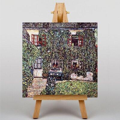 Big Box Art House by Gustav Klimt Art Print on Canvas