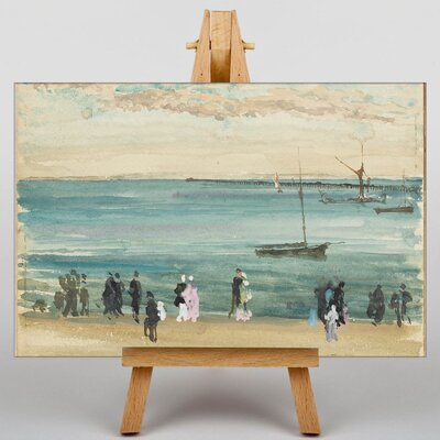 Big Box Art Southend Pier by James McNeill Whistler Art Print on Canvas