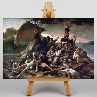 Big Box Art The Raft of the Medusa by Gericault Theodore Art Print on Canvas