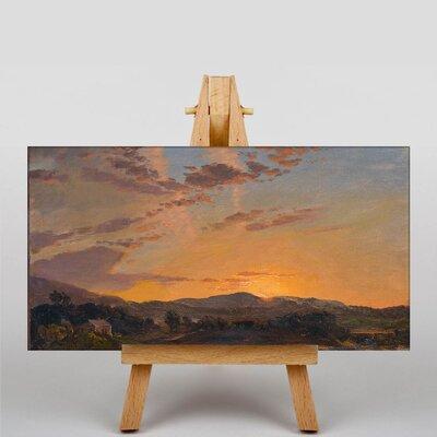 Big Box Art Church Maine Sunset by Frederic Edwin Art Print on Canvas