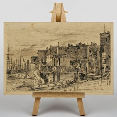 Big Box Art Thames Police by James McNeill Whistler Art Print on Canvas