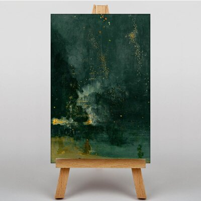 Big Box Art The Falling Rocket by James McNeill Whistler Art Print on Canvas