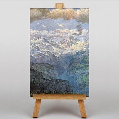 Big Box Art Mountain Landscape by Hans Thoma Art Print on Canvas