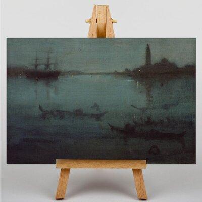 Big Box Art The Lagoon Venice by James McNeill Whistler Art Print on Canvas