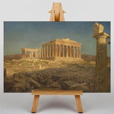 Big Box Art Church Parthenon by Frederic Edwin Art Print on Canvas