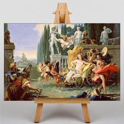 Big Box Art Triumph of Flora by Giovanni Battista Tiepolo Art Print on Canvas