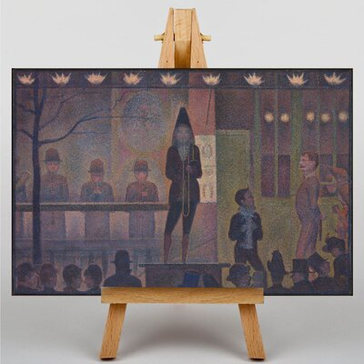 Big Box Art The Performer at the Circus by Georges-Pierre Seurat Art Print on Canvas