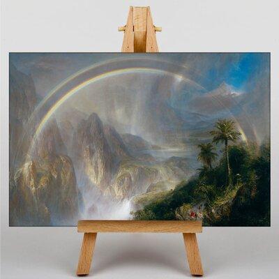 Big Box Art Church rainy Season in the Tropics by Frederic Edwin Art Print on Canvas