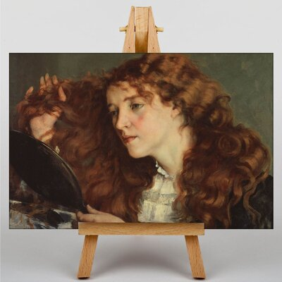 Big Box Art Gustave Courbet Jo The Beautiful Irish Girl by Gustave Caillebotte Art Print on Canvas