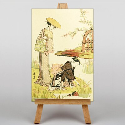 Big Box Art Vintage Japanese Oriental by Helen Hyde Graphic Art on Canvas