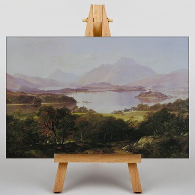 Big Box Art Horatio in Loch Lomand by Horatio McColluch Art Print on Canvas