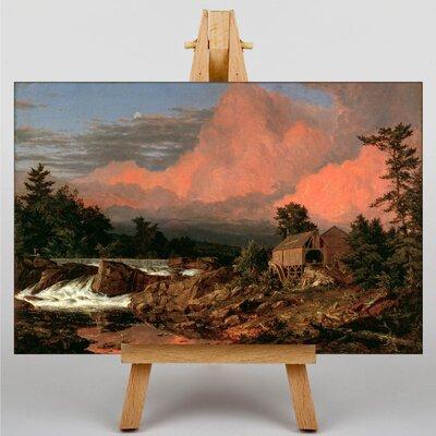 Big Box Art Church Rutland Falls by Frederic Edwin Art Print on Canvas