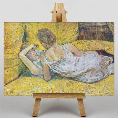 Big Box Art Abandonment by Henri de Toulouse-Lautrec Art Print on Canvas