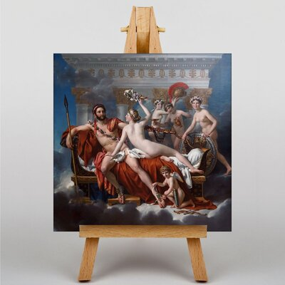 Big Box Art March Venus by Jacques-Louis David Art Print on Canvas