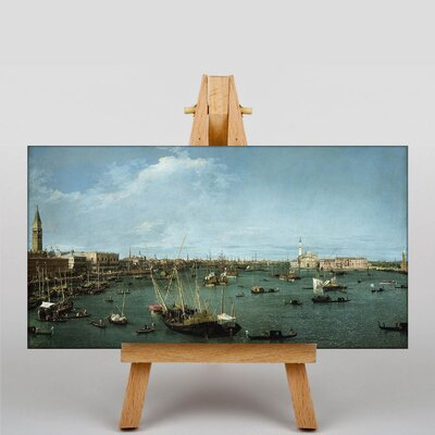 Big Box Art San Marco, Venice by Giovanni Canaletto Art Print on Canvas