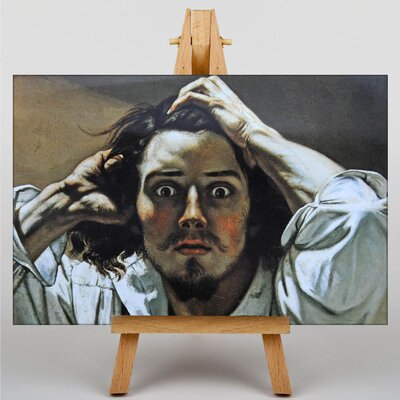 Big Box Art Gustave Courbet The Desperate by Gustave Caillebotte Art Print on Canvas