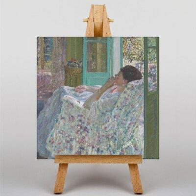 Big Box Art Afternoon by Frederick Carl Frieseke Art Print on Canvas