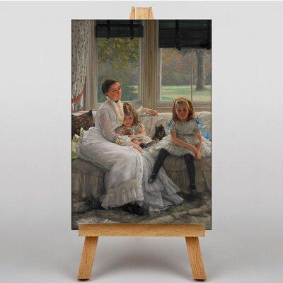 Big Box Art Catherine Smith by James Tissot Art Print on Canvas